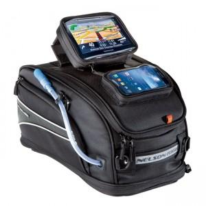 Borsa da serbatoio NELSON-RIGG con porta GPS / smartphone