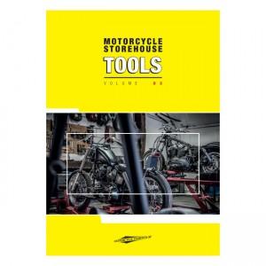 Magazzino per motociclette, volume catalogo utensili 2