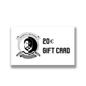 Gift Card di euro 20