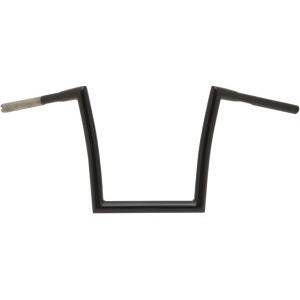 "Manubrio Todds Cycle Strip a sezione variabile 1-1/4"" (32mm) nero lucido per HD FLSTF,FXDF,FXDWG,FXSB/SE 07-17"
