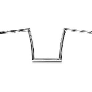 "Manubrio Todds Cycle Strip a sezione variabile 1-1/4"" (32mm) cromato per HD FLSTF,FXDF,FXDWG,FXSB/SE 07-17"