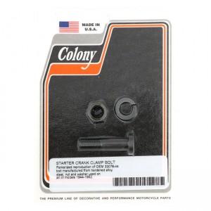 Kit montaggio braccio kickstarter Colony nero per Harley Davidson WL 44-52, G 44-64, WLA(NU) L1942