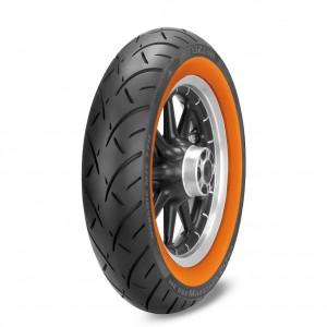 Pneumatico posteriore Metzeler ME 888 MARATHON ULTRA 150/80B16 77H TL fascia arancio