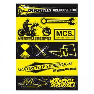 Magazzino per motociclette, foglio A5