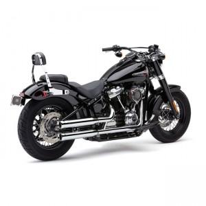Set di scarichi slip-on Cobra mod. NH cromati specifici per Harley Davidson Softail dal 2018