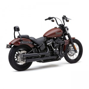 Set di scarichi slip-on Cobra mod. NH neri specifici per Harley Davidson Softail dal 2018