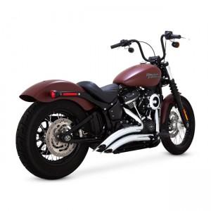 Scarico completi Vance&Hines Big Radius cromato specifico per Harley Davidson Softail dal 2018