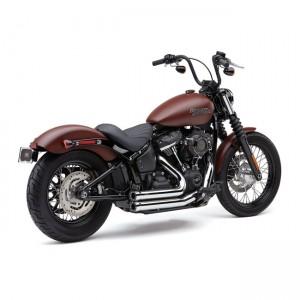 Scarico completo Cobra Shorts RPT cromato specifico per Harley Davidson Softai dal 2018