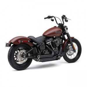 Scarico completo Cobra Shorts RPT nero specifico per Harley Davidson Softai dal 2018