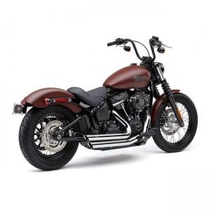 Scarico completo Cobra Slashdown cromato specifico per Harley Davidson Softai dal 2018