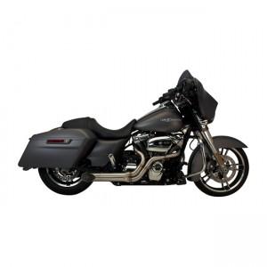Scarico completo 2in1 SuperTrapp BootLegger in acciaio inox specifico per Harley Davidson Touring dal 2010 al 2017