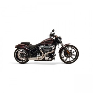 Scarico completo 2in1 SuperTrapp BootLegger in acciaio inox specifico per Harley Davidson Softail 2018