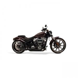 Scarico completo 2in1 SuperTrapp FatShots nero specifico per Harley Davidson Softail 2018