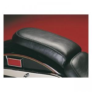Sella passeggero nera Le Pera mod. Silhouette specifica per Harley Davidson Softail dal 1984 al 1999