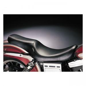Sella nera Le Pera mod. Silhouette 2-Up specifica per Harley Davidson Dyna dal 1991 al 1995