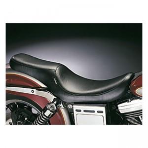 Sella nera Le Pera mod. Silhouette 2-Up specifica per Harley Davidson Dyna dal 1996 al 2003