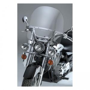 Kit completo fari supplementari National Cycle con staffa cromata specifico per vari modelli Honda