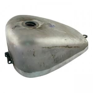 Serbatoio in acciaio grezzo tappo singolo di Paughco mod.Sportster universale – 11 litri