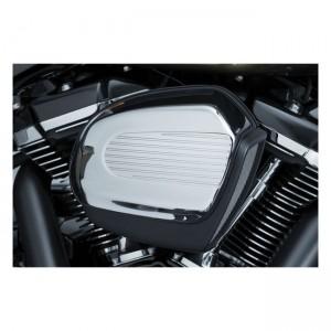 Cover filtro aria Kuryakyn mod.Finned Air in alluminio per Harley Davidson Touring, Trikes dal 2017 al 2019