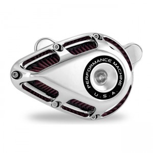 Filtro aria Performance Machine mod.Jet cromato per modelli Harley Davidson Softail – Touring