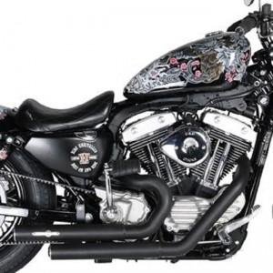 Scarichi completi Hot Shot Omologati E3 di BSL per Harley Davidson Sportster