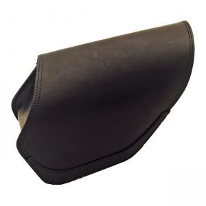 Borsa LEDRIE in pelle nera per Dyna (lato destro)