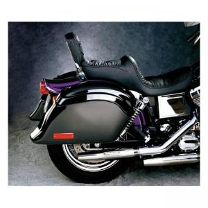 Borse laterali rigide NATIONAL CYCLE a sgancio rapido pocketback nere per moto custom