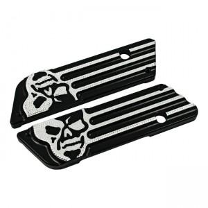 Covers COVINGTONS nero per borse laterali ( mod.skull)