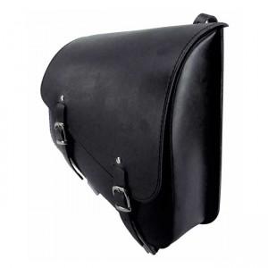 Borsa da telaio LONGRIDE in pelle nera specifica per modelli Sportster