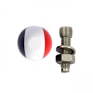 La targa Trik Topz monta la bandiera francese, Universal