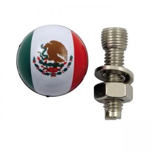 La targa Trik Topz monta la bandiera del Messico, Universal