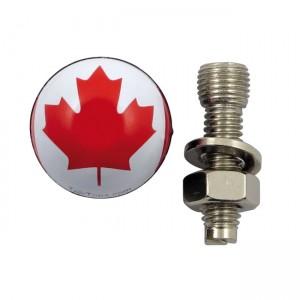 La targa Trik Topz monta la bandiera canadese, Universal