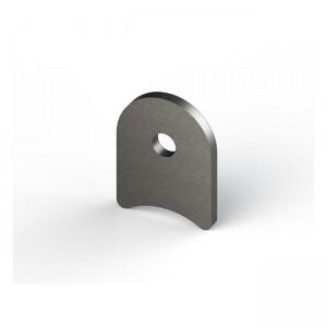MCS Linguetta di montaggio in acciaio tagliata al laser
