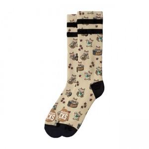 American Socks Signature Maneki Neko, doppia riga nera