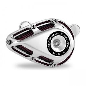Kit filtro aria PM Jet cromato, 18-20 Softail; 17-20 Touring