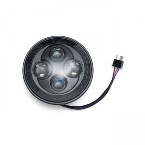 Lampada frontale Kuryakyn Orbit 7 ''LED, nera
