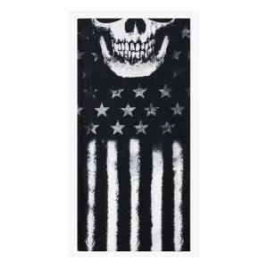 Bandana maschera tubolare LT American Skull