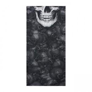 Bandana tubolare maschera LT Black Skull