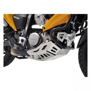 Paramotore Zieger silver per Honda 07-13 Transalp XL 700 V