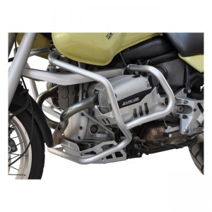 Paramotore Zieger silver per BMW 93-99 R 1100 GS