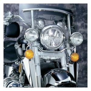 Barra luminosa NC Spot cromata, 97-03 Honda GL1500C Valkyrie/F6C; 00-02 Honda GL1500C Valkyrie/F6CT