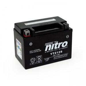Batteria YTZ12S AGM sigillata alla nitro, Honda: 00-07 XL 650V Transalp; 2014 CTX 700; 2014 CTX 700D; 2014 CTX 700N; 14-16 CTX 700ND; 12-13 NC 700D Integra; 12-13 NC 700S; 12-13 NC 700SA; 12-14 NC 700X; 12-13 NC 700XA; 12-14 NC 700XD; 04-07 VT 750C Shadow