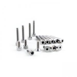 KIT MONTAGGIO PRIMARIO, BRACCIALE INOX, 70-86 4-SP FL, FX, FXST(NU)