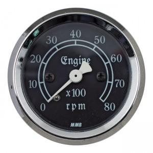 MMB 48mm Ultra Mini tachimetro classico 8000RPM cromato