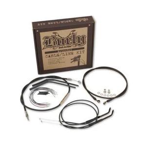 "Set cavi Burly Brand per manubri da 12"" (30cm) per Harley Davidson Sportster 04-06"