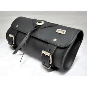 Barilotto 2,5 lt SPAAN Tool Bag in vera pelle nero