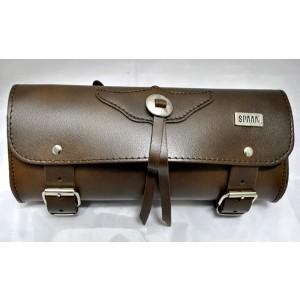Barilotto 2,5 lt SPAAN Tool Bag in vera pelle marrone