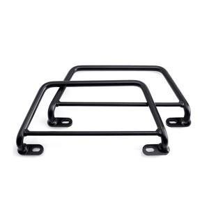 Supporti borse laterali in acciaio nero per sistema KLICKFix per Suzuki Intruder VL800/C800/M800 – Boulevard C50
