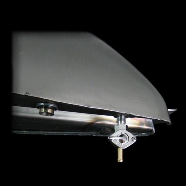 Rubinetto serbatoio dritto 1 / 4NPT (6.35 mm)