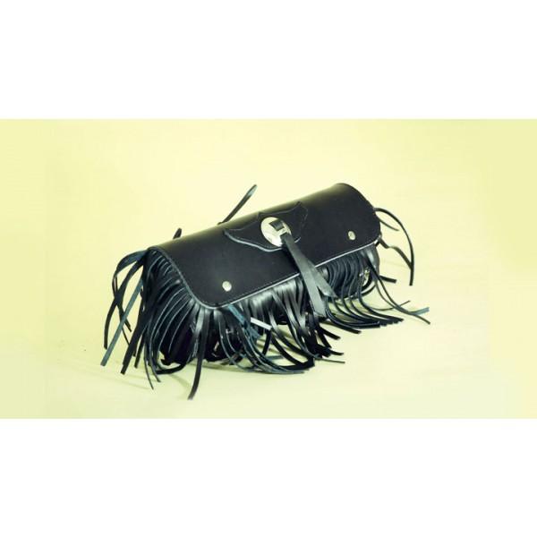 Barilotto 2,5 lt SPAAN Tool Bag in vera pelle con frange